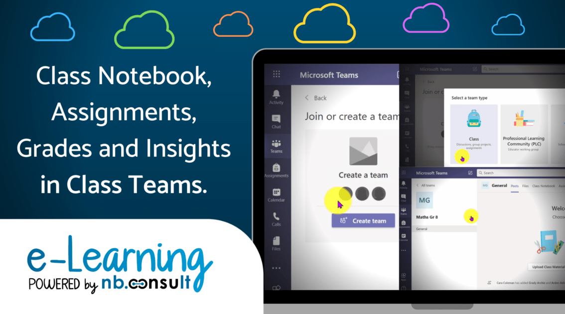 Digi know about Class Notebook, Assignments, Grades and Insights in Class Teams?