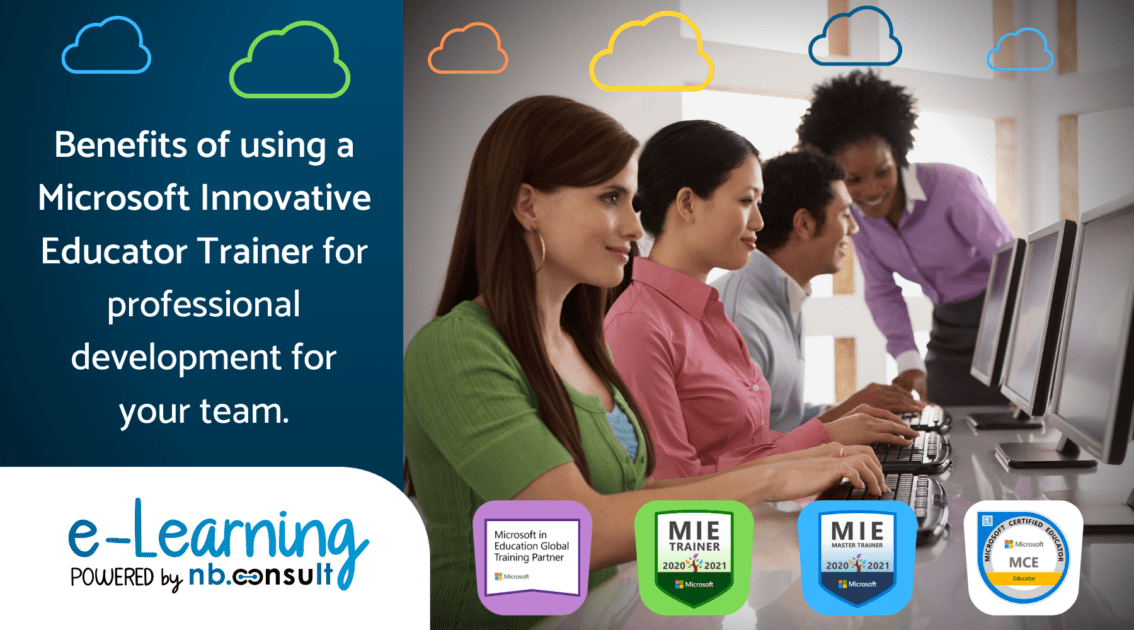 Benefits of using an MIE Trainer for professional development for your team.