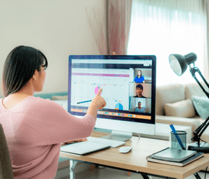communicate collaborate and connect using ms teams