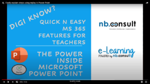 easily explain steps using replay in powerpoint